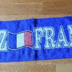 Coleccionismo deportivo: BUFANDA SCARF SELECCION FRANCESA FRANCE, VINTAGE. Lote 85391988