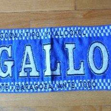 Coleccionismo deportivo: BUFANDA ULTRAS LIGALLO, SCARF, REAL ZARAGOZA. Lote 85395876