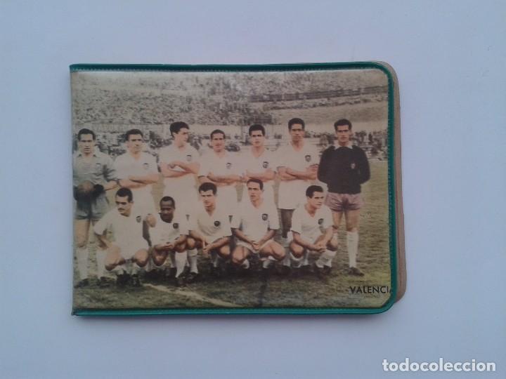 CARTERA PLASTICO, PARTIDO VALENCIA CLUB FUTBOL - REAL SOCIEDAD (Coleccionismo Deportivo - Merchandising y Mascotas - Futbol)