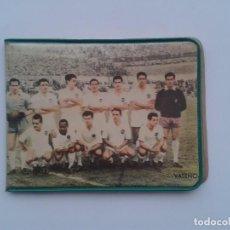 Coleccionismo deportivo: CARTERA PLASTICO, PARTIDO VALENCIA CLUB FUTBOL - REAL SOCIEDAD. Lote 85518888