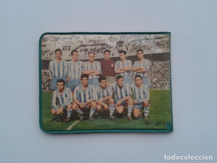 Coleccionismo deportivo: CARTERA PLASTICO, PARTIDO VALENCIA CLUB FUTBOL - REAL SOCIEDAD - Foto 2 - 85518888