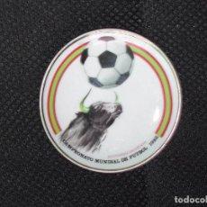 Coleccionismo deportivo: PLATO PORCELANA MUNDIAL FUTBOL 1982 - RECUERDO DE ESPAÑA.. Lote 87678216