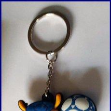 Coleccionismo deportivo: LLAVERO FULECO MASCOTA DEL MUNDIAL DE FUTBOL BRASIL FIFA 2014 FIGURA PVC. Lote 89490888