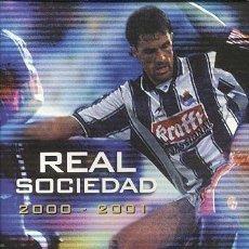 Coleccionismo deportivo: ALBUM COMPLETO / REAL SOCIEDAD FUTBOL SAN SEBASTAIN DONOSTIA 2000-2001. Lote 90116892