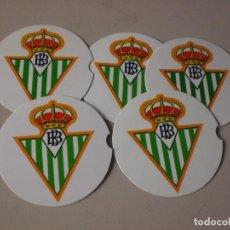 Coleccionismo deportivo: POSAVASOS CLUB REAL BETIS. Lote 91281355