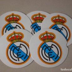 Coleccionismo deportivo: POSAVASOS CLUB FUTBOL REAL MADRID. Lote 91282165