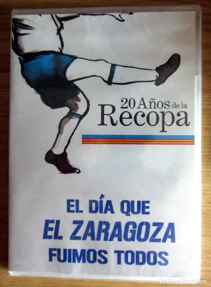 DVD NUEVO 20 AÑOS DE LA RECOPA EL DIA QUE EL REAL ZARAGOZA FUIMOS TODOS (Coleccionismo Deportivo - Merchandising y Mascotas - Futbol)