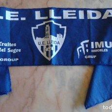Coleccionismo deportivo: (TC-21) BUFANDA U. E. LLEIDA PLAY OFF 2003 2004 VER FOTO. Lote 91876090