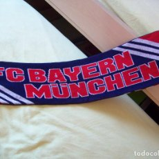Coleccionismo deportivo: BUFANDA FC BAYERN MUNCHEN - ADIDAS. Lote 92489080