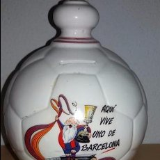Coleccionismo deportivo: HUCHA CERÁMICA FC BARCELONA . Lote 93114085