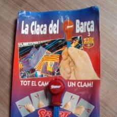 Coleccionismo deportivo: LA CLACA O CASTAÑUELA DEL BARÇA, FUTBOL BARCELONA - DIARIO SPORT. Lote 93923545
