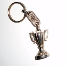Coleccionismo deportivo: LLAVERO KEYRING FUTBOL RECOPA DE EUROPA 1994.REAL ZARAGOZA. CUP WINNERS CUP SPANISH FOOTBALL VINTAGE. Lote 94076565