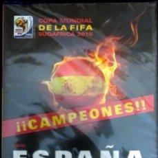 Coleccionismo deportivo: DVD FINAL MUNDIAL 2010 ESPAÑA VS HOLANDA CAMPEON SUDAFRICA FIFA WORLD CUP FOOTBALL GOL INIESTA. Lote 214721825