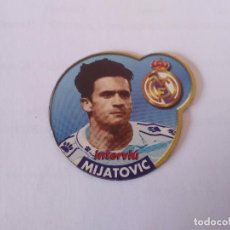 Coleccionismo deportivo: IMÁN DE NEVERA ESTRELLAS DE LA LIGA 1996-1997 INTERVIÚ - REAL MADRID 96-97: MIJATOVIC. Lote 94462490