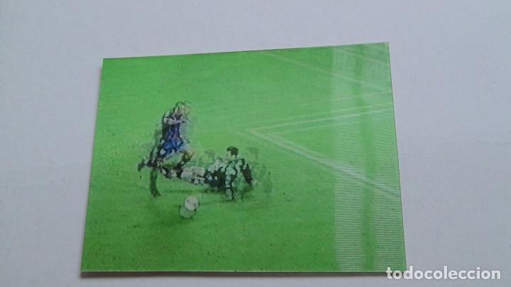 Coleccionismo deportivo: Virtual cards f.c.Barcelona mundo deportivo gol ronaldo, barça - real sociedad liga 96-97, 1996-1997 - Foto 2 - 94464102