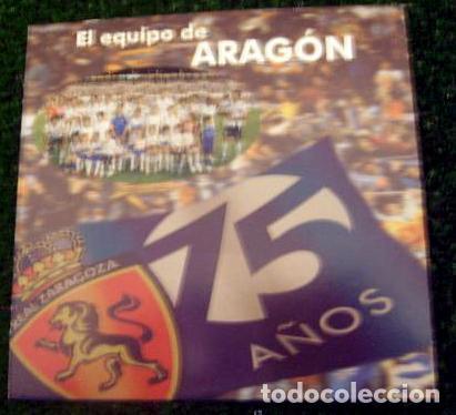 DVD REAL ZARAGOZA 75 AÑOS CAMPAÑA DE ABONADOS 2007-2008 (Coleccionismo Deportivo - Merchandising y Mascotas - Futbol)