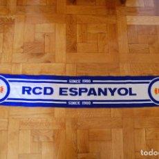 Coleccionismo deportivo: BUFANDA OFICIAL. REAL CLUB DEPORTIVO ESPAÑOL. ESPANYOL.. Lote 95432407