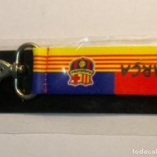 Coleccionismo deportivo: LLAVERO DEL BARCELONA, DE TELA . Lote 95775759