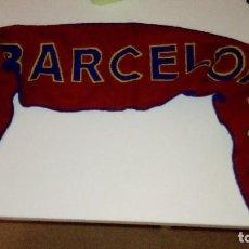 Coleccionismo deportivo: BUFANDA FUTBOL CLUB BARCELONA . Lote 96420503