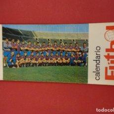 Coleccionismo deportivo: CF BARCELONA. BLOC POSTALES JUGADORES PLANTILLA. CALENDARIO FUTBOL 1969. Lote 96697779