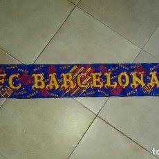 Coleccionismo deportivo: BUFANDA F.C.BARCELONA. AÑOS 90.. Lote 98795867
