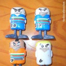 Coleccionismo deportivo: LOTE FIGURAS FUTBOLISTAS - MUNDIAL 2006 - CON ACCION DE PATADA -. Lote 98933951