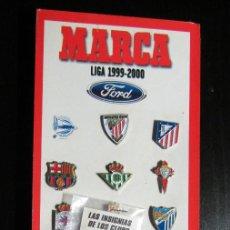 Coleccionismo deportivo: COLECCION COMPLETA PINS LIGA FUTBOL 20 EQUIPOS. Lote 99302711