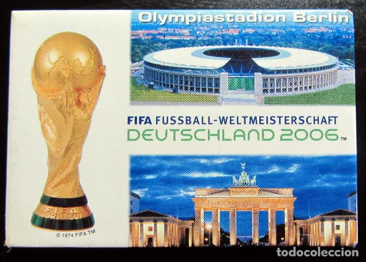 IMAN FIFA FUSSBALL DEUTSCHLAND 2006 STADIUM BERLIN FIFA WORD CUP GERMANY MUNDIAL FUTBOL ALEMANIA (Coleccionismo Deportivo - Merchandising y Mascotas - Futbol)