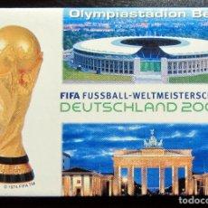 Coleccionismo deportivo: IMAN FIFA FUSSBALL DEUTSCHLAND 2006 STADIUM BERLIN FIFA WORD CUP GERMANY MUNDIAL FUTBOL ALEMANIA. Lote 99303563
