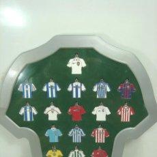 Coleccionismo deportivo: 20X COLECCION LLAVEROS - CAMISETAS DE LA LIGA AÑO 2002/2003 - FUTBOL-EQUIPOS 02 03-LLAVERO EQUIPO. Lote 99462791