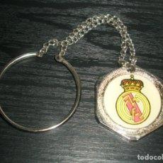 Coleccionismo deportivo: -LLAVERO FUTBOL REAL MADRID - KEYRING. Lote 99480007