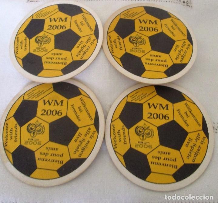 POSAVASOS MUNDIAL DE FÚTBOL 2006, ALEMANIA (Coleccionismo Deportivo - Merchandising y Mascotas - Futbol)