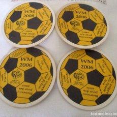 Coleccionismo deportivo: POSAVASOS MUNDIAL DE FÚTBOL 2006, ALEMANIA. Lote 99565947