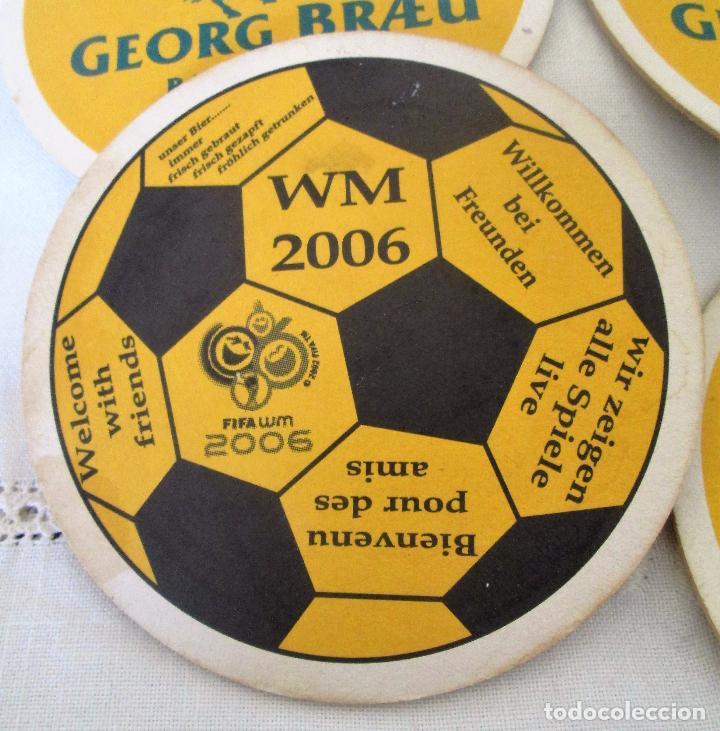 Coleccionismo deportivo: Posavasos mundial de fútbol 2006, Alemania - Foto 3 - 99565947