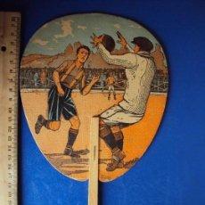 Coleccionismo deportivo: (F-171050)PAY PAY PUBLICITARIO TINTORERIA ELECTRA - ESCENA FOOT - BALL - AÑOS 20. Lote 100694543