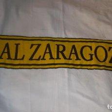 Coleccionismo deportivo: BUFANDA OFICIAL DEL REAL ZARAGOZA. Lote 101221135