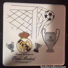 Coleccionismo deportivo: AZULEJO 10X10 DEL REAL MADRID 2 MODELOS DIFERENTES. Lote 107039578