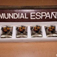 Coleccionismo deportivo: 6 VASOS CHUPITO NARANJITO. MUNDIAL ESPAÑA 82. Lote 101313044