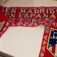 Coleccionismo deportivo: CAJ-59721 BUFANDA ATLETICO DE MADRID . Lote 101775907