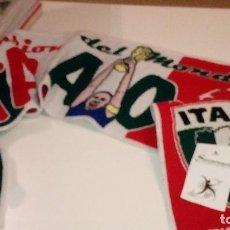 Coleccionismo deportivo: CAJ-59721 BUFANDA ITALIA CAMPEON DEL MUNDO 2006 . Lote 101775951