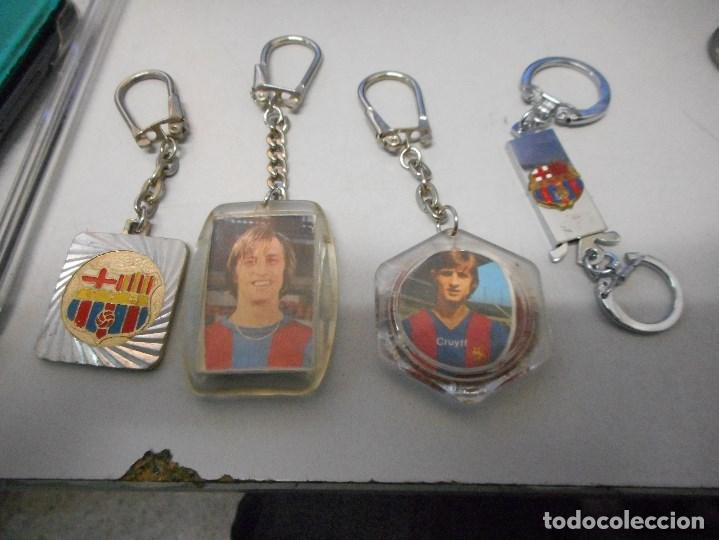 Coleccionismo deportivo: coleccion llavero futbol club barcelona vintage camp nou cruyff - Foto 3 - 102499147