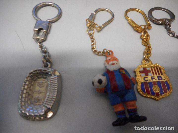 Coleccionismo deportivo: coleccion llavero futbol club barcelona vintage camp nou cruyff - Foto 4 - 102499147