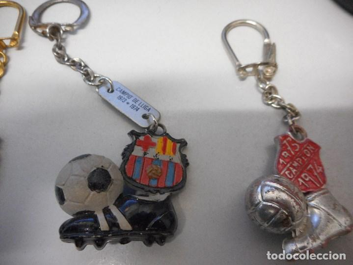 Coleccionismo deportivo: coleccion llavero futbol club barcelona vintage camp nou cruyff - Foto 5 - 102499147