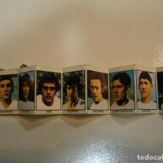Coleccionismo deportivo: VALENCIA CLUB DE FUTBOL LLAVERO CON FOTO Y FICHA DE LOS JUGADORES AÑOS 70. Lote 103640255