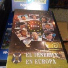 Coleccionismo deportivo: VHS HOMENAJE A LA AFICION EL TENERIFE EN EUROPA. Lote 104563039