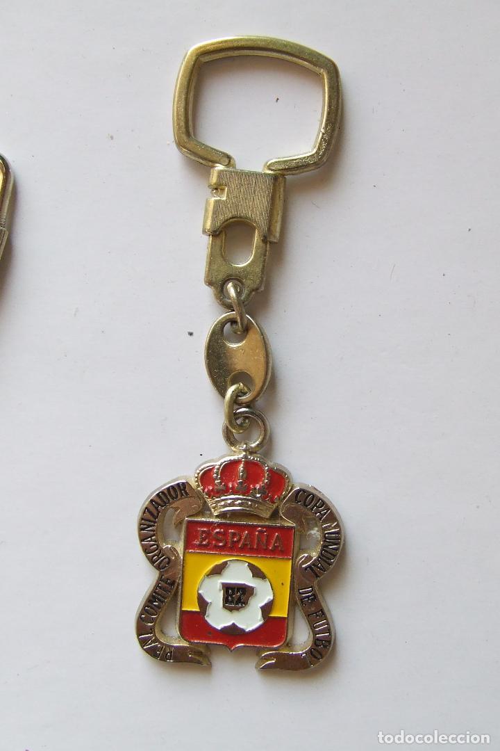 LLAVERO OFICIAL REAL COMITÉ ORGANIZADOR COPA MUNDIAL DE FUTBOL ESPAÑA 82 (Coleccionismo Deportivo - Merchandising y Mascotas - Futbol)