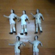 Coleccionismo deportivo: FUTBOLISTA FUTBOLIN REAL MADRID LOTE DE 5. Lote 105106884