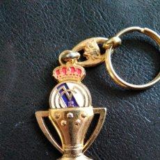 Coleccionismo deportivo: LLAVERO REAL MADRID CAMPEON LIGA. Lote 105581078
