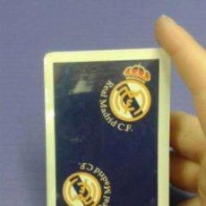 Coleccionismo deportivo: BARAJA DE CARTAS NUEVA DEL REAL MADRID. Lote 105786219