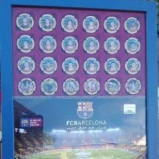 Coleccionismo deportivo: PRIMERA COLECCION CHAPAS DE CAVA DEL FUTBOL CLUB BARCELONA. Lote 106665199